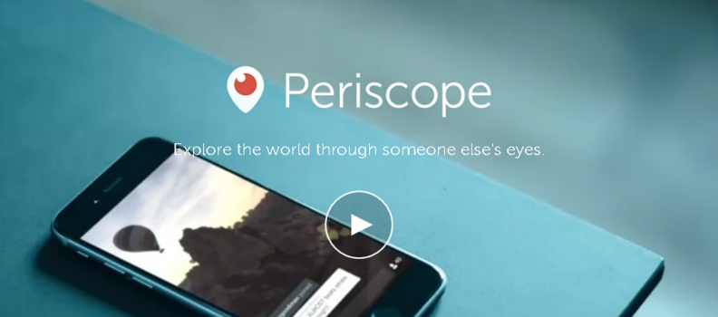 Periscope: Watching the Uncut Stories